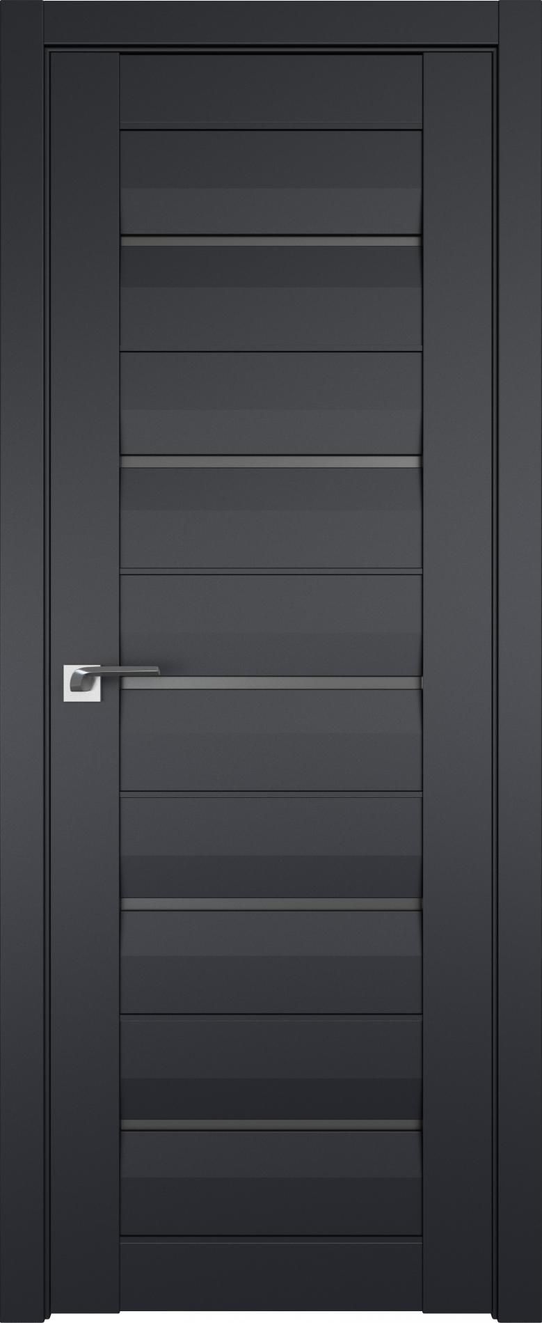 Двери межкомнатные темные со стеклом фото